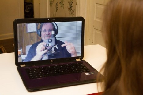 Using Skype as a Tool to Teach Online Science (LabPaq) Laboratories | Teaching Online Science: Tools and Resources | Scoop.it