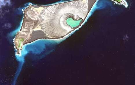 Scientists map new land created by a volcano | Geology | Scoop.it