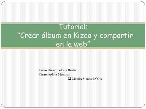 Tutorial: kizoa   RED.ED.TIC   Scoop.it