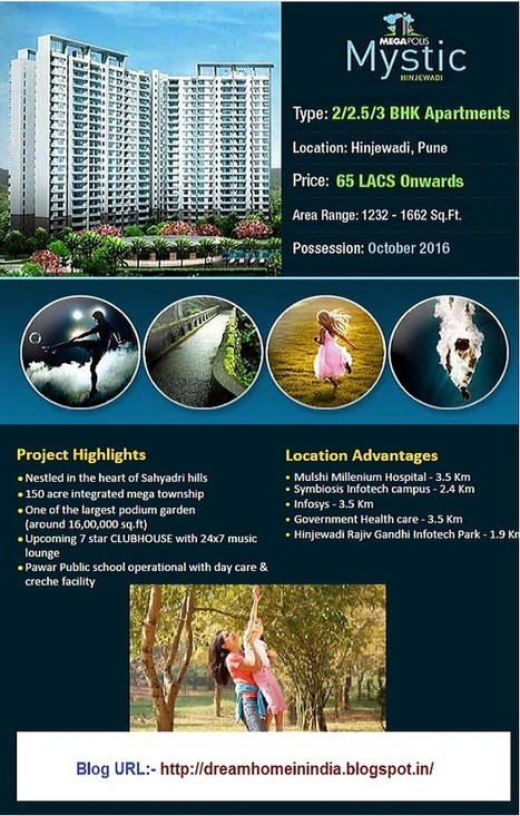 Residential Property in India | Real Estate Property India-Dream Homes: Megapolis Mystic Luxury Township in Hinjewadi Pune | Residential Property in India | Scoop.it