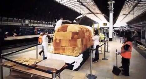 Giant train-inspired cake took 30 hours and more than 1,200 pounds of icing to build | Radio Show Contents | Scoop.it