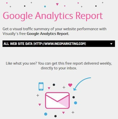 FREE: Your Google Analytics Presented as an Infographic - Visual.ly   Online Marketing Performance   Scoop.it