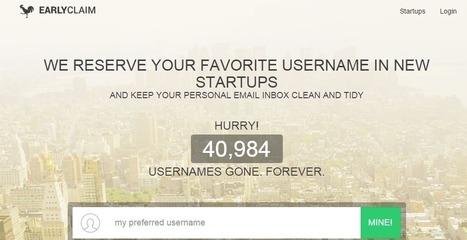EarlyClaim: Un site pour créer un compte sur tous les nouveaux réseaux sociaux automatiquement | CARTOGRAPHIES | Scoop.it