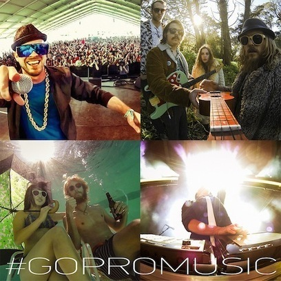 Attention Musicians: GoPro Launches Music Photo Contest on Instagram | eHS Mobile Classroom | Scoop.it