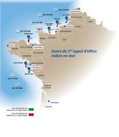 Les énergies de la mer: Appel d'offres éolien offsore n°2 et ... | Grenelle de l'environnement | Scoop.it