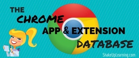 Collection of Chrome App and Extensions via Shake Up Learning | Cool School Ideas | Scoop.it