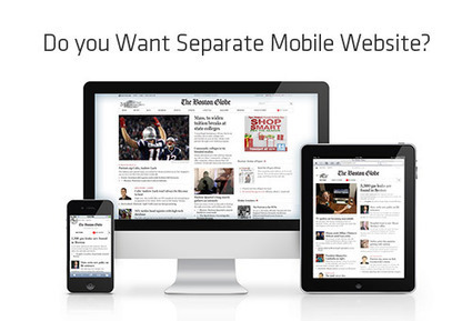 Have Responsive Websites Overshadowed Separate Mobile Websites? | Responsive WebDesign | Scoop.it