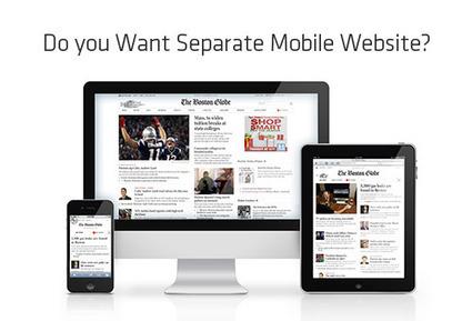 Have Responsive Websites Overshadowed Separate Mobile Websites? | Mobile Websites | Scoop.it
