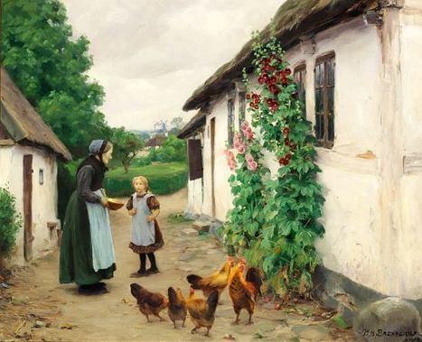 Village   Favorite Paintings digital   Scoop.it