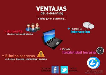 Uvirtual E-learning: Ventajas del E-Learning | Professor do Século XXI | Scoop.it
