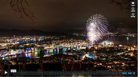 Bergen : feux d'artifice à défaut d'aurores boréales | Arctique et Antarctique | Scoop.it