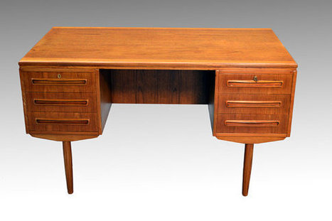 Teak Desk | whats been spotted on etsy today? | Scoop.it