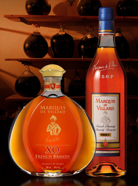 Brandy Marquis de Villard - French Brandy | The Cognac and its vineyards | Scoop.it