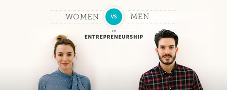 Infographic: Men VS. Women in entrepreneurship | Les nouveaux entrepreneurs | Scoop.it
