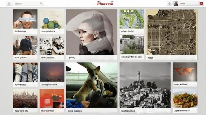 Pinterest lance les centres d'intérêt. A chacun sa page personnalisée ? | MOOC Francophone | Scoop.it