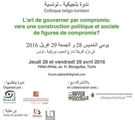 ندوة بلجيكية ـ تونسية Colloque belgo-tunisien   Dernières productions   Scoop.it