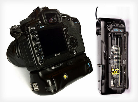 "Photographer Turns Battery Grip into a Computer, Gives DSLR an Extra Brain | ""Cameras, Camcorders, Pictures, HDR, Gadgets, Films, Movies, Landscapes"" 