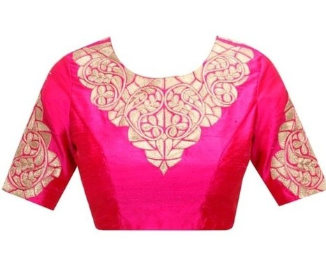 Blouse Designs best matching combinations with saree | styleuneed | Scoop.it