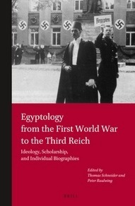 """""""Egyptology from the First World War to the Third Reich"""" 