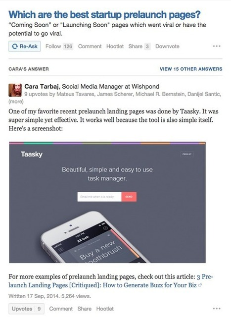 This is how you use Quora to drive traffic to your website | The Twinkie Awards | Scoop.it