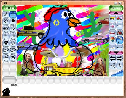 Tux Paint, interview du créateur du célèbre logiciel libre de dessin | FLE & Arts Plastiques | Scoop.it