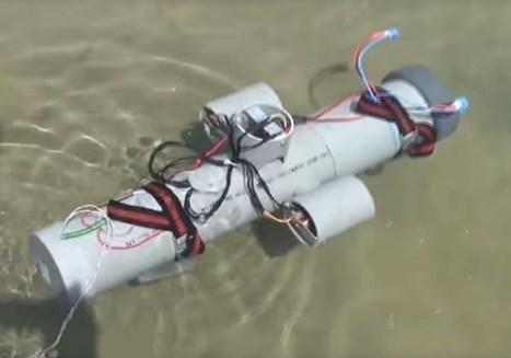 Raspberry Pi Submarine ROV Underwater Drone (video) - Geeky Gadgets   Arduino, Netduino, Rasperry Pi!   Scoop.it