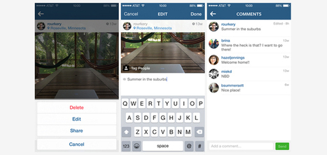 Instagram Adds Ability To Edit Captions, Improves People Search - Search Engine Journal | Kore Social Mix | Scoop.it
