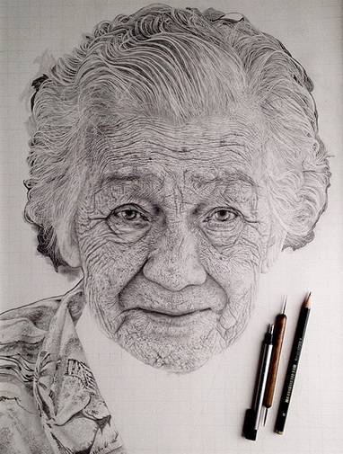 Pencil Drawings by Monica Lee | Inspired By Design | Scoop.it