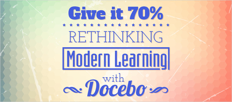 Give It 70%: Rethinking Modern Learning with Docebo - eLearning Brothers | eLearning Tips | Scoop.it