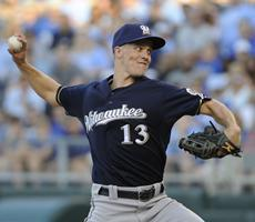 Zack Greinke gets a no-decision against former Royals team - USA TODAY | English Learning House | Scoop.it