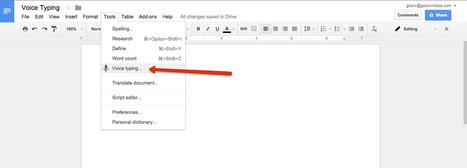 You Can Now Compose Google Docs With Your Voice   The Gooru   Applied Linguistics and Ed Tech   Scoop.it