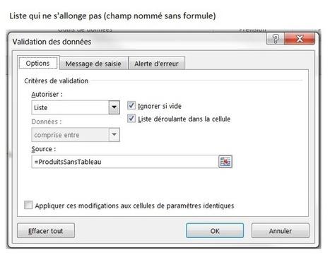 Excel: Créer une liste de validation dynamique avec les données d'une autre feuille | BM Formation | Scoop.it
