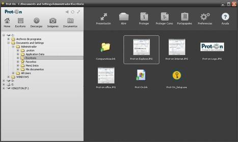 Prot-on: aumenta la seguridad de tus archivos - Compunoticias ... | Ciberseguridad + Inteligencia | Scoop.it