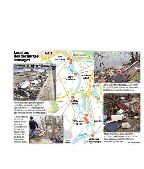Val-de-Marne : les bords de Seine, un dépotoir qui risque de s'aggraver | Charentonneau | Scoop.it