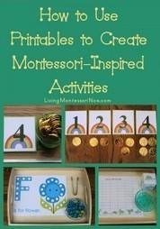 Montessori-Monday – How to Use Printables to Create Montessori-Inspired Activities   Montessori Inspired   Scoop.it