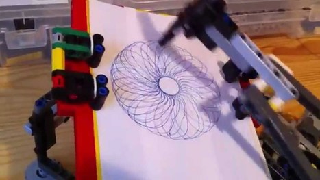 Build a Spirograph with LEGOs | Heron | Scoop.it