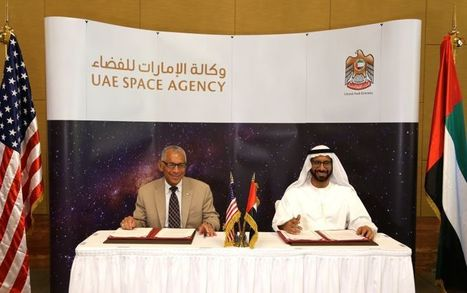 US, UAE Sign Agreement To Collaborate On Space Exploration | 21st Century Innovative Technologies and Developments as also discoveries, curiosity ( insolite)... | Scoop.it