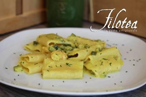 Paccheri with Shrimp and Zucchini - Paccheri con Gamberetti e Zucchine   Le Marche and Food   Scoop.it