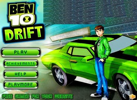 Ben 10 Drift - Play Your Best Ben 10 Games On ToonKaboom.com   Ben 10 Games   Spiderman Games   Scoop.it