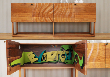 Graffiti Furniture Brings 'The Street' Indoors | OFF THE CANVAS DESIGN | Scoop.it