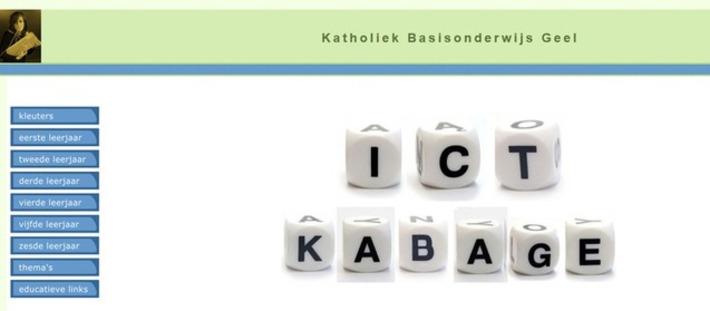 Edu-Curator: ICT KABAGE: website met online oefenmateriaal voor groep 1 t/m 8 | Educatief Internet - Gespot op 't Web | Scoop.it