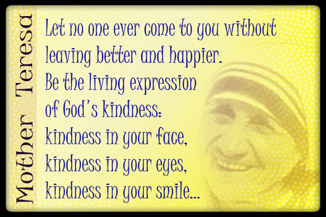 Life Notes: Be the living expression of God's kindness   Life Notes   Scoop.it
