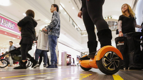 Hoverboard maker Swagway sued by Razor over copyright infringement | Marketing and the Law | Scoop.it