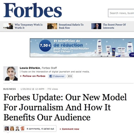 Forbes Update: Our New Model For Journalism And How It Benefits Our Audience - Forbes | journalisme | Scoop.it