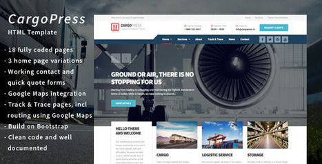 CargoPress - Logistic, Warehouse & Transport HTML (Business) Download   Wordpress Themes Download   Scoop.it