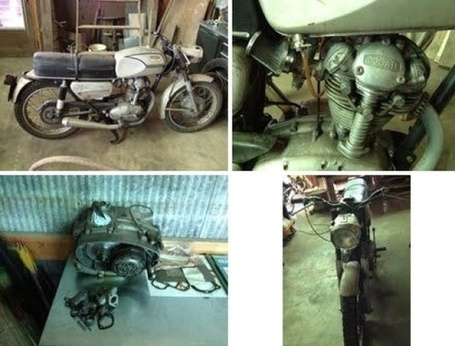 For Sale | 1967 Ducati Monza Project ThrottleYard | Ductalk | Scoop.it