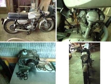For Sale | 1967 Ducati Monza Project ThrottleYard | Ductalk Ducati News | Scoop.it