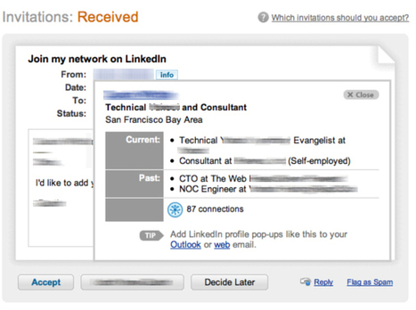 5 Valid Reasons for Ignoring LinkedIn Connection Requests | Building a Web Presence | Scoop.it