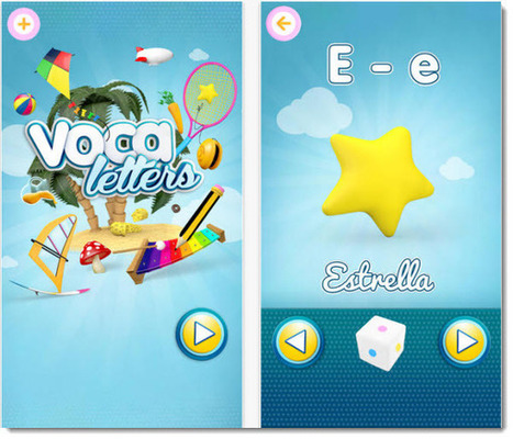 2 aplicaciones educativas para los primeros años de aprendizaje | Educación Infantil | Scoop.it
