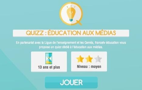 France Tv crée un quizz sur l'éducation aux médias | Jeux sérieux | Scoop.it